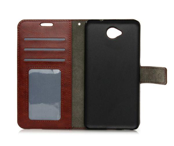 Für Nokia 3 5 6 550 650 PU Brieftasche Ledertasche Kartensteckplätze Ständer Handy Fall Abdeckung Für Nokia Lumia 950 XL