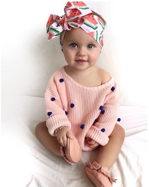 Wholesale Children's Baby INS hot sell hair bows handmade baby fruit tiara children's fruit headband Hair Accessories