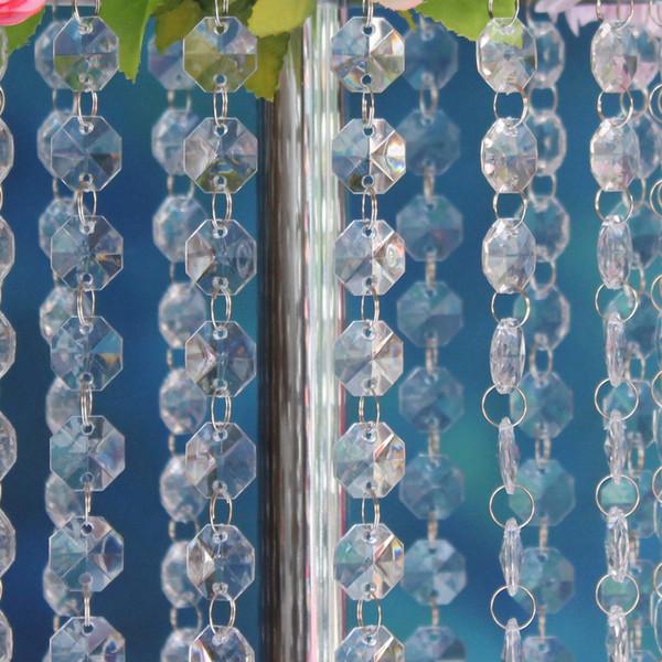 Wholesale Magnificent 16 Feet Crystal Acrylic Gems Bead Strands, Manzanita Tree Crystals, Tree Garlands, Christmas Decoration