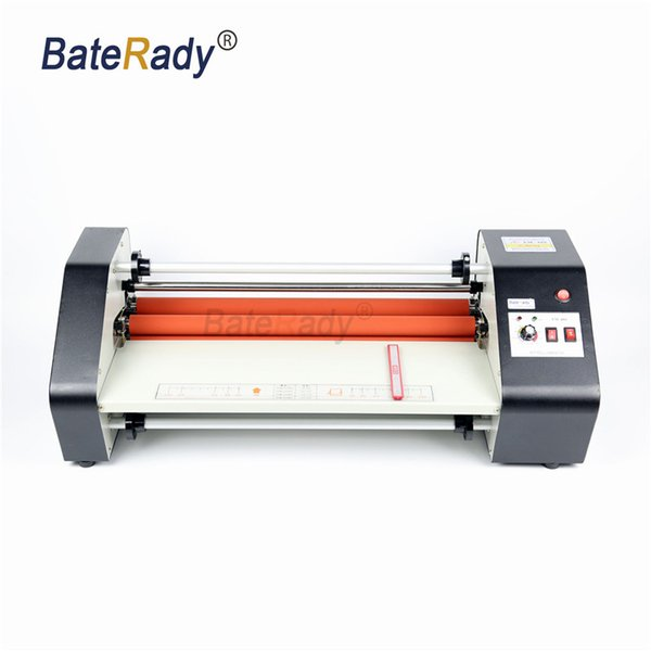 FM-480 paper laminating machine,cold and heating card laminating machine.220V photo laminator