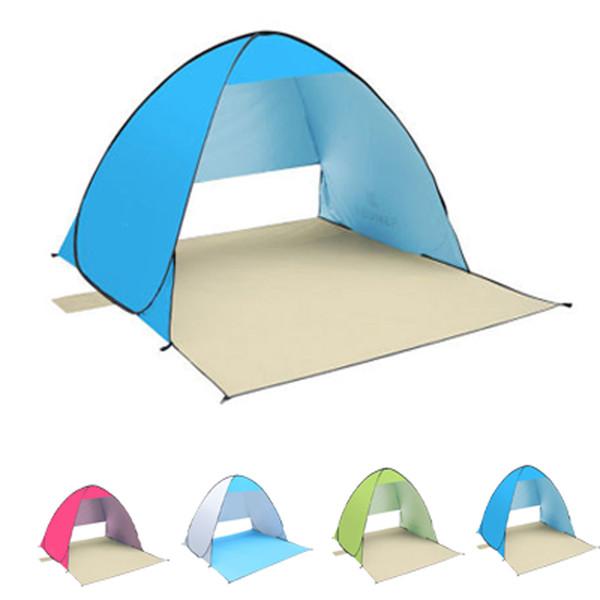 KEUMER-proteção UV barraca de acampamento Camping Abrigo Abrigos de praia guarda-chuva de praia tendas de pesca à prova d 'água 190 T de poliéster