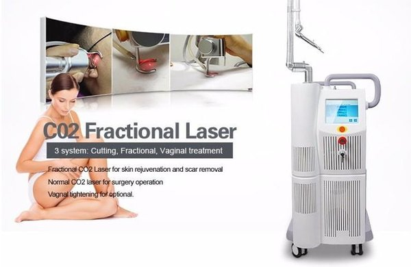 New arrival !!!High Quality 40W Fractional CO2 Laser Scar Wrinkle Removal Vaginal Tightening Skin Resurfacing Surgical Cutting Machine