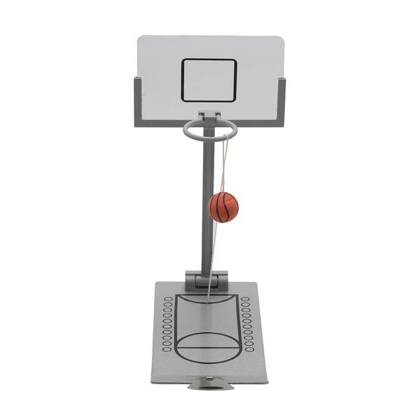 Kids Toy Desk Ball Finger Basketball Rack Metal Desktop Basketball Machine Foldable Palm Mini Shooting Basketball Family Game