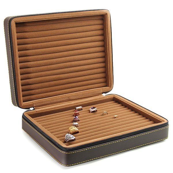 Roll Ring Case Coffee