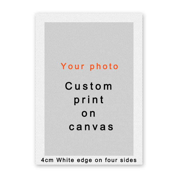 07G Custom Canvas Painting Posters And Prints Art Wall Pictures Anime Movie Landscape Poster Customized for Your Home Wall Decor