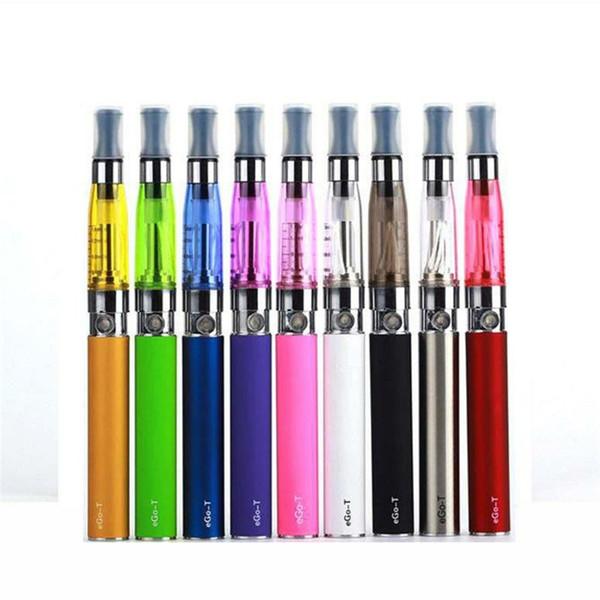 eGo CE4 Blister Kits eGo-T Battery 650mah 900mah 1100mah Electronic Cigarette E Cigarette E Cig Kits CE4 Clearomizer Various Colors Instock