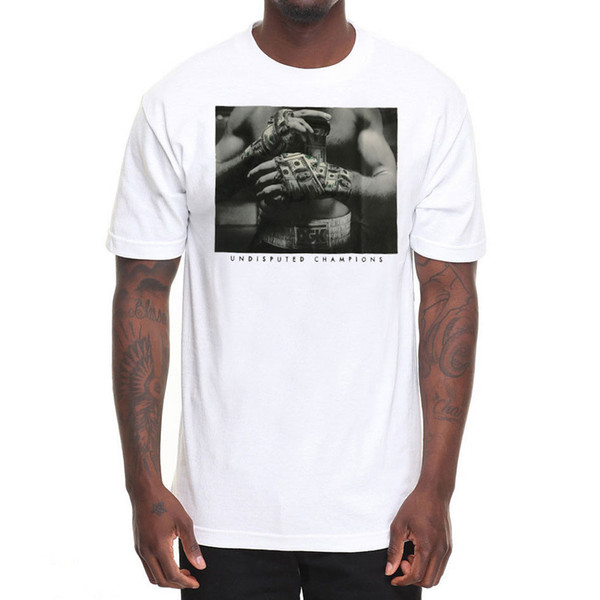 DGK Men's Undisputed T Shirt White Skate Tee T-Shirt Boxing Clothing Apparel short sleeve men Tee T shirt o-neck knitted comfortable fabric
