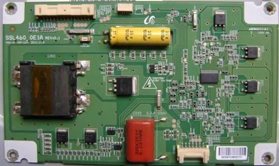 Free Shipping LCD Constant Current Board Backlight Inverter Board TV Board Unit For SSL460-0E1A REV:0.1 Toshiba 46EL300C