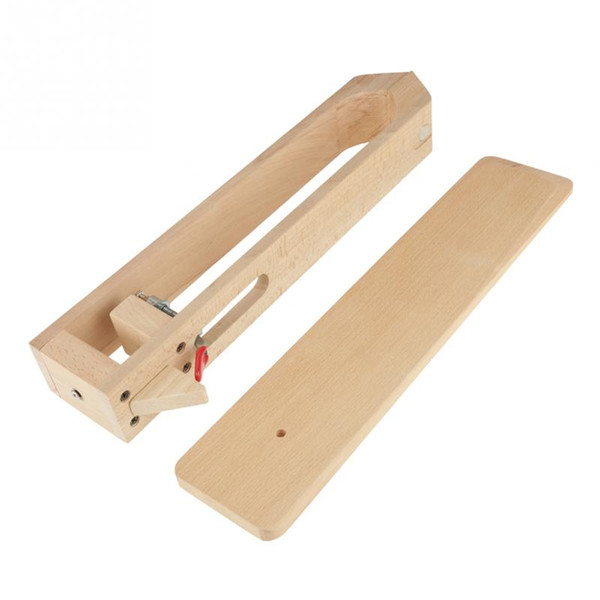 43cm Beech Leather Retaining Clip With Magnet Wood Sewing Stitching Crafts Lacing Stitching Clamp Sewing Tools