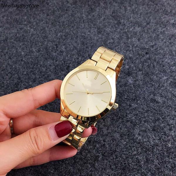 Vendita diretta lusso superiore Amanti Orologi Donne Uomo Acciaio Guarda orologio da polso Orologio Relogio Feminino