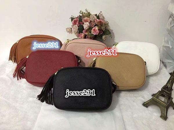 Bolsos de diseñador Cartera de lujo de alta calidad Famoso bolso para mujer Bolsos bolsos Bolso Crossbody Soho Bolso de hombro Disco Bolso bolso con flecos