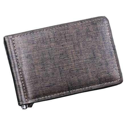 NUEVOS hombres Bifold Business Leather Men Wallet Monedero Clip de dinero Tarjeta de crédito organizada Monedero Bolsillos carteira masculina marca
