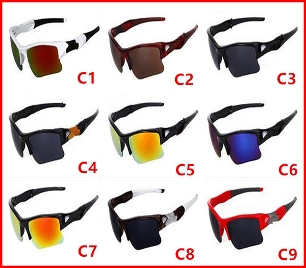 New Men'S Bicycle Glass Sun Glasses Sports Goggles Driving Sunglasses Cycling 9colors Good Quality Free Shipping