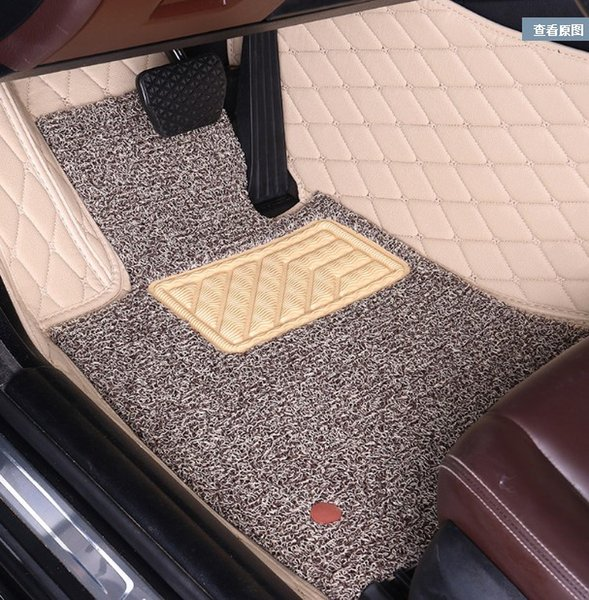 Customized car floor mats specially for Lincoln MKC MKT MKS MKX MKZ Navigator Continental all weather full cover perfect fit rug