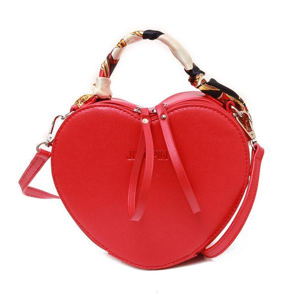 Kids Handbag Korean Fashion Heart Shape Cross-body Bag Baby Girls Candies Messenger Bags Coin Purses Teenager Shopping Travel Bags 2Colors