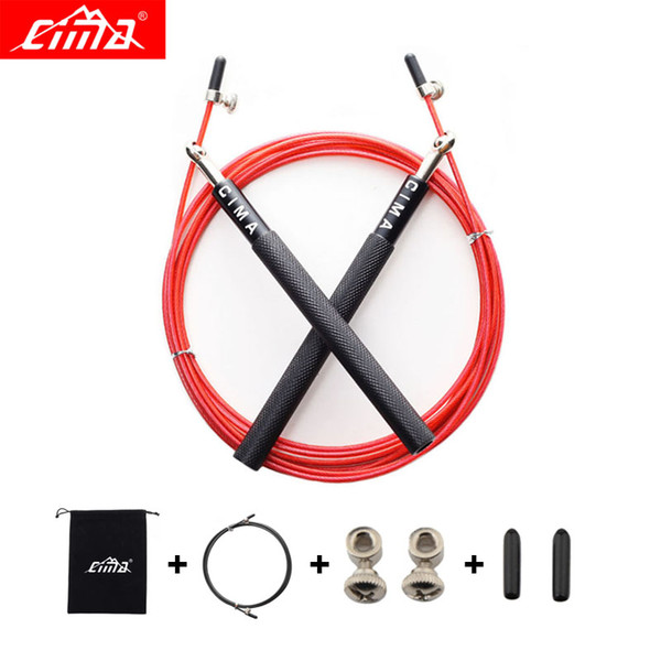 CIMA Jump Rope Professional Crossfit Speed Skipping Rope For Gym Fitness Skip New Sports Training jump ropes with Carrying bag