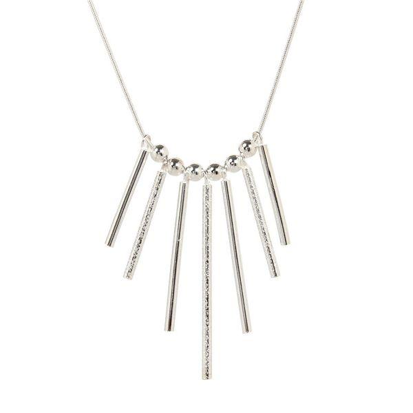 2018 Trendy Geometric Pendant Necklace For Women Men Silver Color Snake Chain Neck Collar Bohemia Style Jewellery Bijoux N731