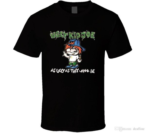 New Hot Sell Ugly Kid Joe T Shirt Fashion Men T Shirt Clothing Printed Cotton Man o Neck Top