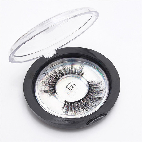 23 Styles Selectable 3D Faux Mink Eyelashes OEM/custom/private Logo Acceptable 3D Silk Protein Lashes 100% Cruelty Free Eye Lashes