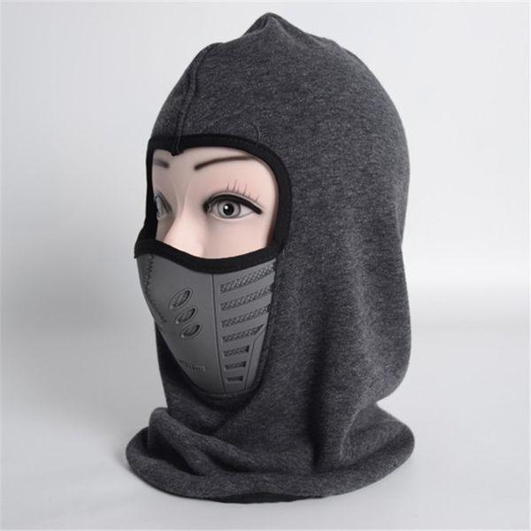 Latest model fashion Winter Bicycle Windproof Headgear Motorcycle Face Mask Hat Neck Helmet Cap Sports Thermal Fleece Balaclava