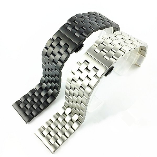 Stainless Steel Watch Band Bracelet 18 20 22 24mm Solid Stainless Steel Watchbands Strap Accessories watches