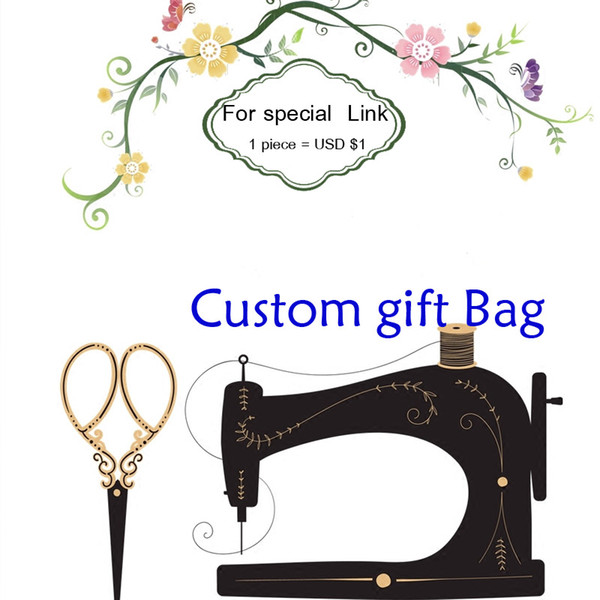 best selling custom link linen bag cotton pouch print buyer logo or store name