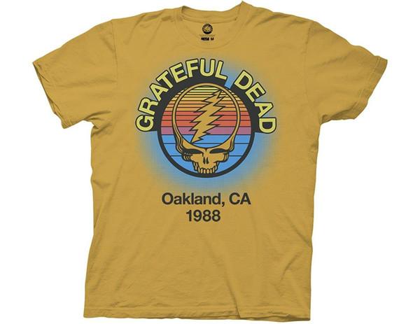 Atacado Desconto Grateful Dead Oakland, Ca 1988 Adulto T-shirt