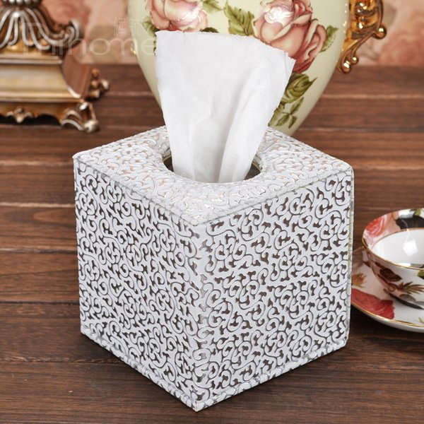 Silver eagle decorative pattern tissue paper towel tube pumping tissue roll paper tube box roll box fashion 415B