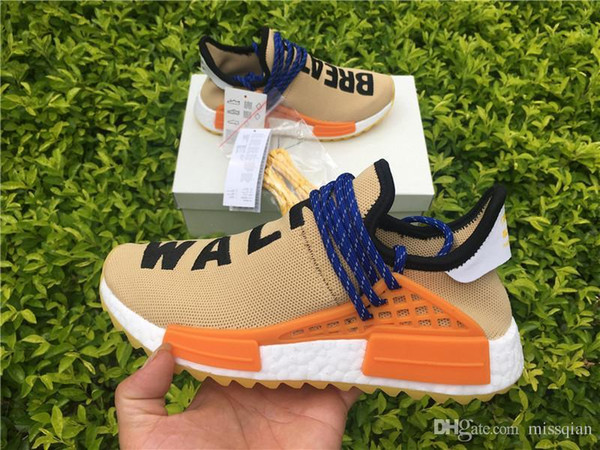 size 40 6a6bd 62778 2019 PW HUMAN RACE NMD TR BY PHARRELL AC7361 PALE NUDE/CORE BLACK/YELLOW  WILLIAMS FALL WINTER 2017 LINE UP RUNNING SHOES From Mic_yeezy, $154.96 |  ...