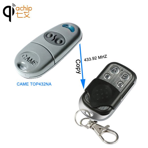 RF Copy Code Remote Compatible For CAME TOP432EV With Rolling Code And 433MHz Frequency