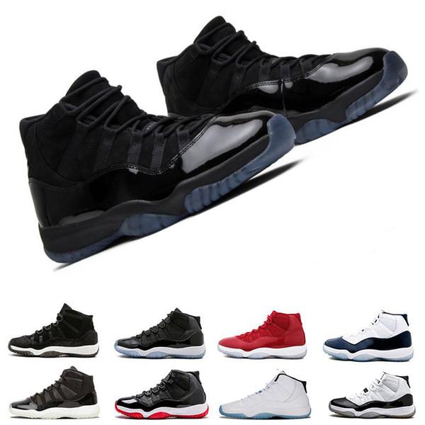 Acheter Chaussures De Basketball Homme 11 Espace Nuit De Bal D'étudiant Laine Highlow Velvet Heiress Gym Baskets Rouges De Race Concord Légende Basse