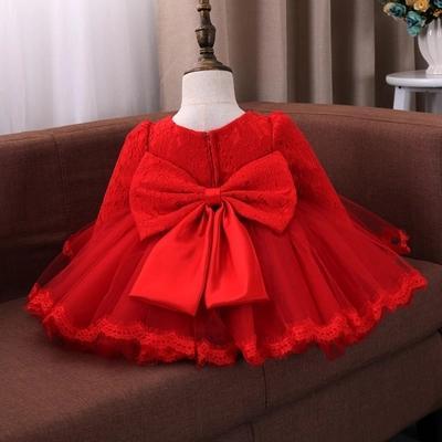 Été bébé fille robe de baptême infantile princesse robe 1er anniversaire tenues enfants enfants fête porter robe fille formelle vestido