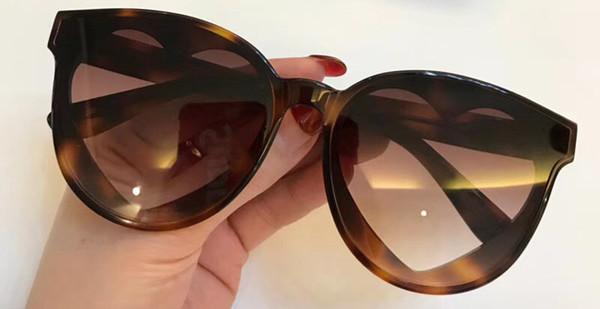 Newest Fashion Top quality Brand sunglasses cat eye frame women's luxury Heart-shaped lens design sunglasses popular protection sunglasses