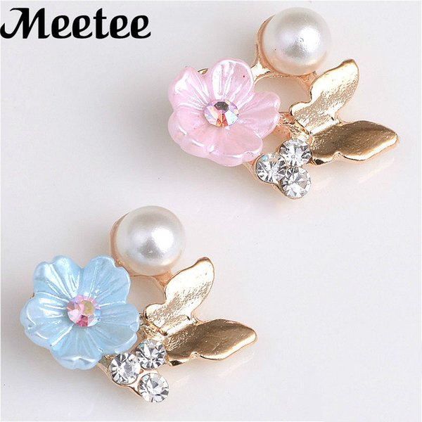 50Pcs Fashion Butterfly Rhinestone Flatback Buttons DIY Embellishments Clothes Bag Buckle Scrapbooks Gils Hair Bow Accessories KY2098