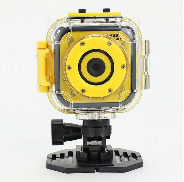 """Cute Mini Waterproof Kid Children Camera 720P Digital Video Camcorder with 1.77 """"LCD Screen Nice Gift for your Boy Girl"""