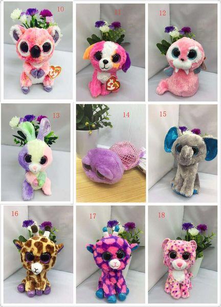 2018 TY beanie boos Plush Toys simulation animal TY Stuffed Animals super soft 6inch 15cm children gifts