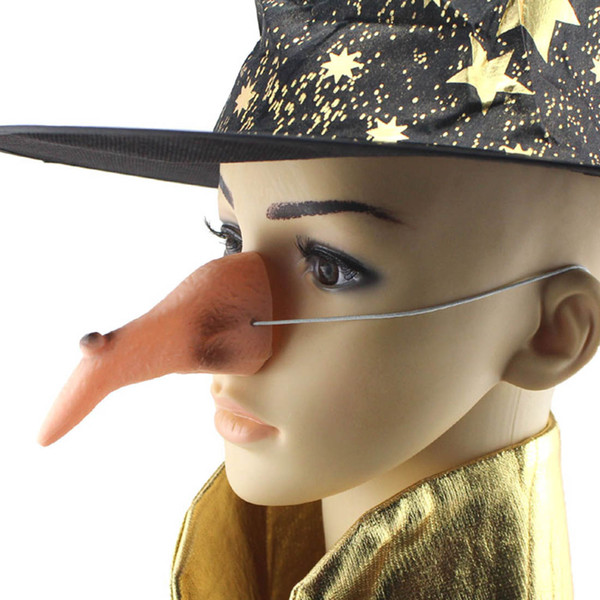 Wicked Witch Nose Carnival Halloween HolidayHalloween Costume Accessory Girl Lady Dressing Up Nose for Halloween Supply