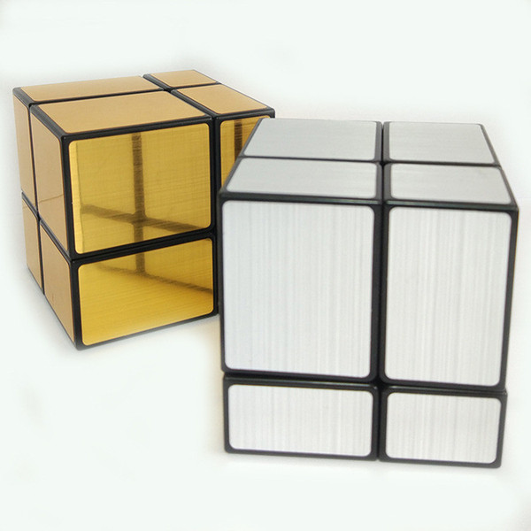 2x2x2 Magic Mirror Cube Professional Competition Magic Puzzle Cube Educational Learning Toys For Children Kids Cubo Magico