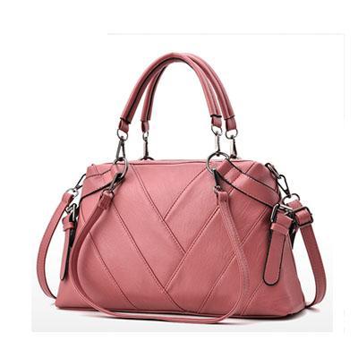 핑크 핸드백