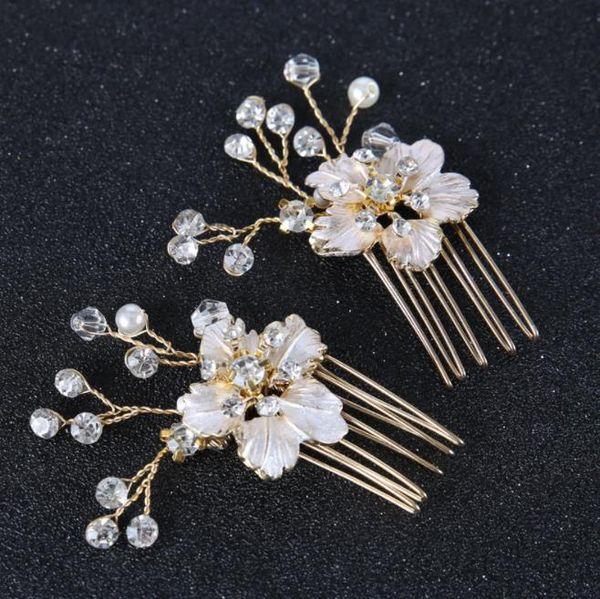 Han style pearl classic hair head hairpin hairpin, bridal headwear wedding accessories with Jewelry Pin u clip