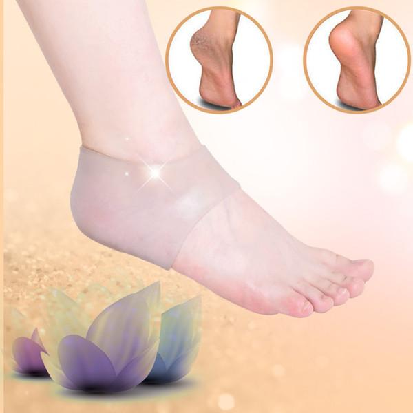 1 Para Fußpflege Orthesen Arch Support Massage Silikon Rutschfeste Gel Weiche Sportschuh Einlegesohle Pad Für Mann Frauen Qo133