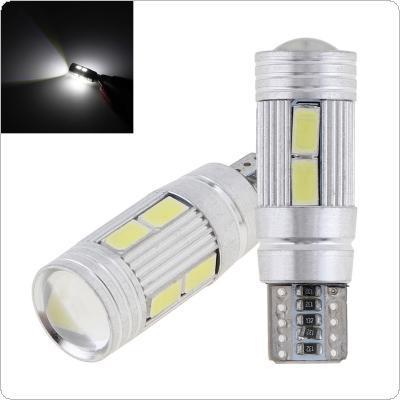 2 adet 5630 T10 10SMD Alüminyum Decode Araba Styling Oto LED Ampul Hata Yok Park Araba Yan Işık CLT_20Z