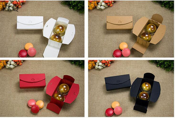 410 Kraft Gift Boxes Paper Handmade Candy Chocolate Packing Box Blank Storage Diy Wedding Cake Boxes Christmas Wrapping Paper Online Christmas