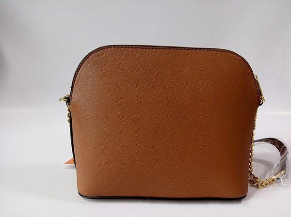 2019 new handbag cross pattern synthetic leather shell bag chain Bag Shoulder Messenger Bag Small fashionista 225