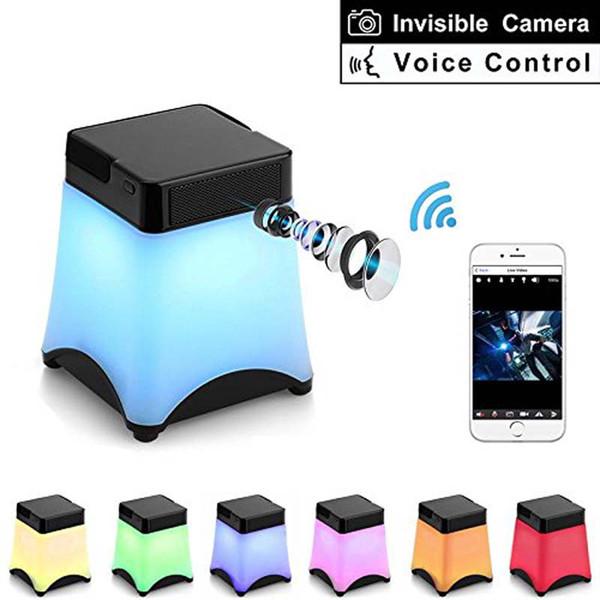Drahtlose LED Nachtlicht Kameras 1080P WiFi Kamera LED-Licht Kamera mit Bewegung Detektiv DVR Kamera Video Recorder Sicherheit Mini-Kameras