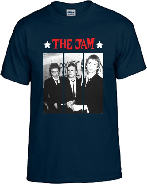 THE JAM VARIOUS COLOURS CREW NECK SHORT SLEEVE TSHIRT
