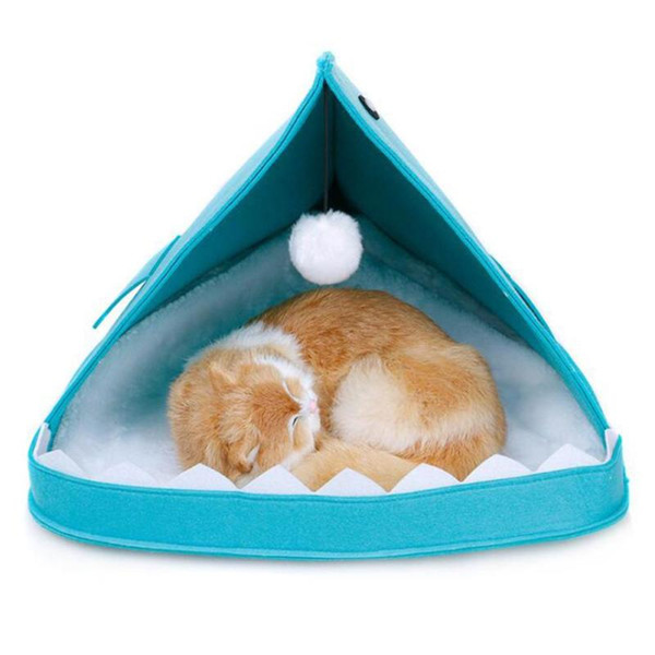 Amazing 2019 Wholesale New Style Shark Shape Dog Beds Warm Soft Cat House Pet Sleeping Bag Cat Kennel For Cat House Nest From Xiaojuaner 11 06 Dhgate Com Home Interior And Landscaping Synyenasavecom