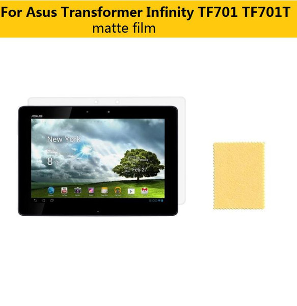 Matte Anti-Glare Screen Protector protective Films For Asus Transformer Infinity TF701 TF701T 10.1