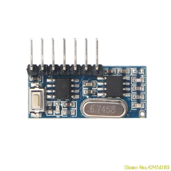 Compre Nueva Alta Calidad 433 Mhz Código De Rf Módulo Receptor De Aprendizaje 1527 Decodificador Inalámbrico 4 Canal De Salida Para Control Remoto A