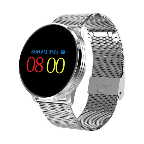 M9 Smart Wristband in acciaio inox Smartband impermeabile Smartband NRF52832 chip di pressione sanguigna Smart Watch per IOS Android